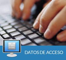 Solicite sus datos de acceso