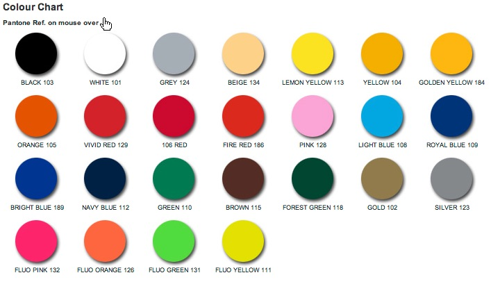 chemica color chart firstmark